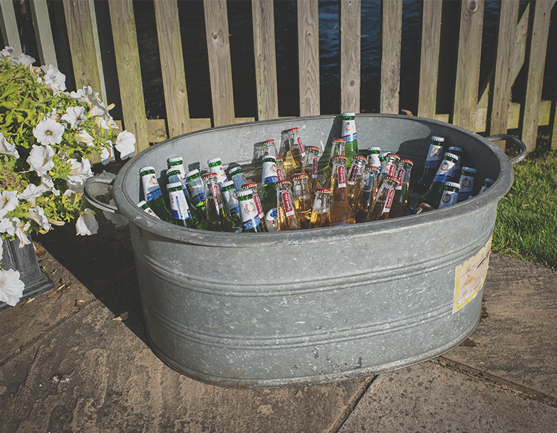 Galvanised Steel Tub